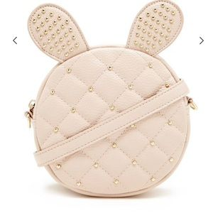 Forever 21 Quilted Bunny Crossbody